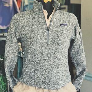 Patagonia Sweaters - Patagonia W's Better Sweater 1/4 Zip Birch White
